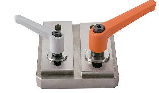 LEMS-LWPlastic Clamp Levers - Plain Washer Integrated Type