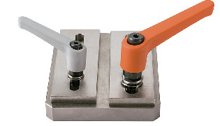 LEMS-WPlastic Clamp Levers - Spring Washer Integrated Type