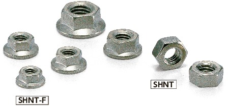 SHNTHex Nuts / Hex Flange Nuts - Titanium