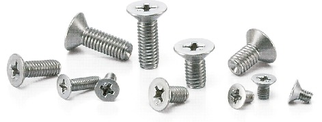 SNFTGCross Recessed Flat Head Machine Screws - High Intensity Titanium Alloy