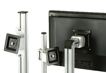 DFK-PBDisplay Mounting System - 360°rotation Type - Bolt Retention