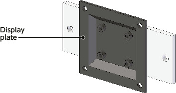 DFR-PBDisplay Mounting System - Fix Type