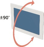 DFS-AADisplay Mounting System - Single Axis Type