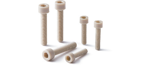 SPEG-C(INCH)Plastic Screws - Hex Socket Head Cap Screws - Inch Thread - PEEK GF30
