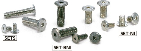 SET-NIHexalobular Socket Head Cap Screws with Extreme Low Profile