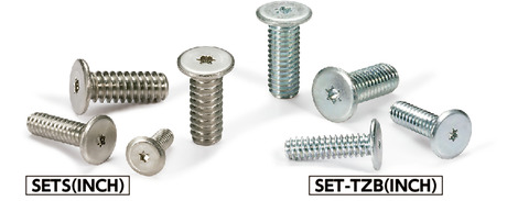 SET-TZB(INCH)Hexalobular Socket Head Cap Screw with Extra Low Head (Inch Thread)