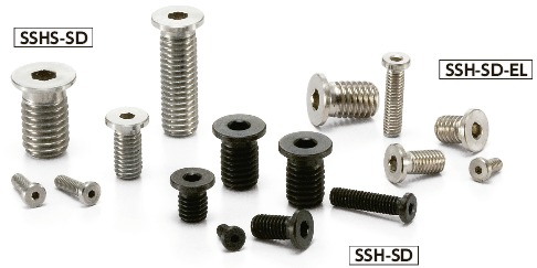 SSH-SD-ELSocket Head Cap Screws with Extreme Low
