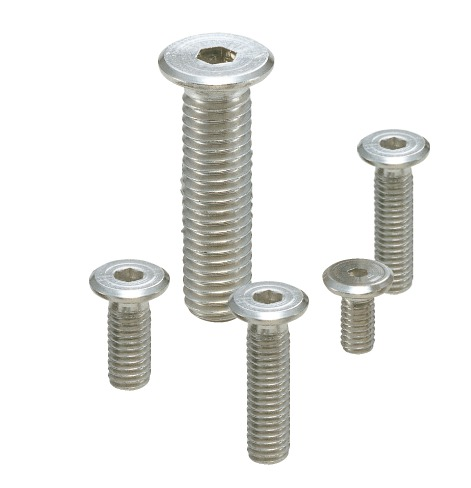 SSHTSocket Head Cap Screws - Special Low Profile - Pure Titanium