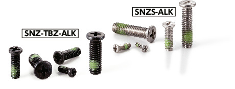 SNZS-ALKPan Head Machine Screws for Precision Instruments (Miniature Screws with Nylon Patch)
