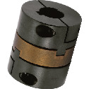 Flexible Couplings - Oldham Type - Clamping + Key Type