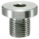 Hex Socket Flange Head Screw Plugs - Steel