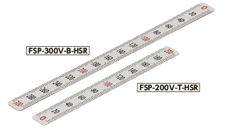 FSP-V-HSRScale Plate (Vertical Type) - Half scale
