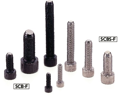 SCBS-F(INCH)Clamping Bolts - Flat Ball (Inch Thread)