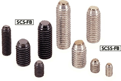 SCSS-FBClamping Screw - Flat Ball - with Reversal Protection Mechanism