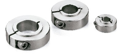 NSCS-SBSet Collar (Made of Stainless Steel) - For Securing Bearing - Clamping Type