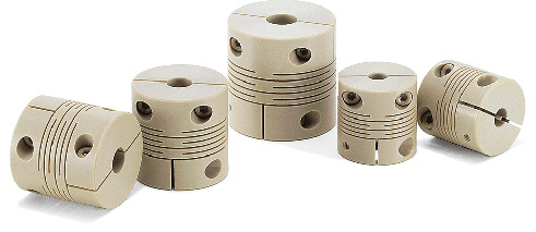 MSXP-C_CCleanroom / Vacuum / Heat Resistant Couplings - Slit Type (PEEK)