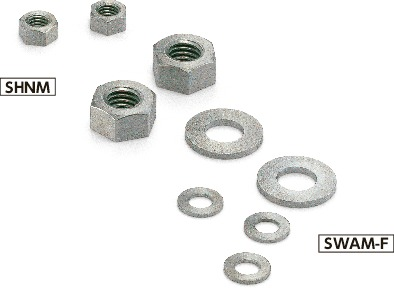 SHNMHex Nuts/Washers - MolybdenumHex Nuts - Molybdenum