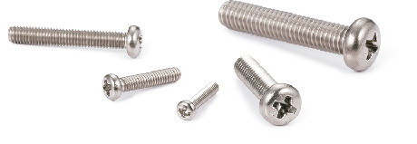 SNPTCross Recessed Pan Head Machine Screws - Titanium