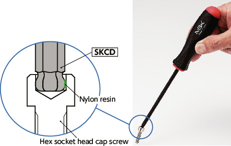 SKCD_Hexagon Screwdriver (with Screw Holding Function) NBK