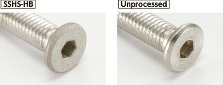 SSHS-HBSocket Head Cap Screws with Special Low Profile - Head Shot Blast