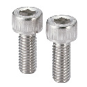 SVSLGHex Socket Head Cap Screws with Ventilation Hole - High Intensity Stainless Steel