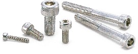SVSX-88Hex Socket Head Cap Screws with Ventilation Hole - High Intensity S.S.
