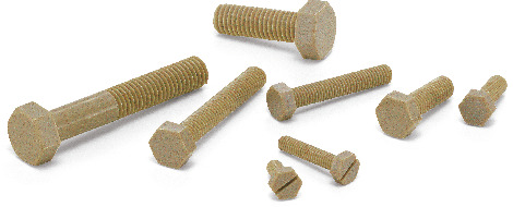 SPE-HPlastic Screw - Hex Head Screws - PEEK