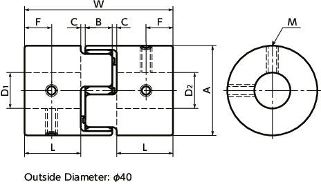 Lovejoy 69790443516 HERCUFLEX FX SERIES 43516 FX 4.5E Steel Rigid Hub 9.09 OD 1-3//4 x 7//8 Keyway Length Through Bore 5.31 6-9//16 Bore 9.09 OD 1-3//4 x 7//8 Keyway LOV   FX 4.5E HUB RGD 6-9//16 6-9//16 Bore Length Through Bore 5.31