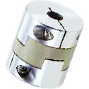 Cleanroom / Vacuum / Heat Resistant Couplings - Oldham Type (PEEK) - Clamping Type
