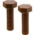 Plastic Screw - Hex Head Screws - VESPEL(Grade:SCP-5000)