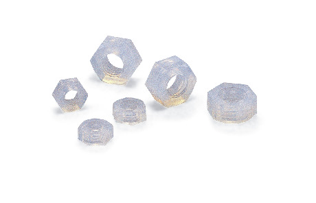 SPFA-NPlastic Screws - Hex Nuts - PFA