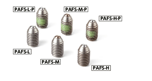 PAFSMiniature Ball Plungers (Made of Stainless Steel)