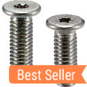Hexalobular Socket Head Cap Screws with Special Low Profile
