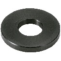 Adjust Metal Washer - Stainless Steel Black