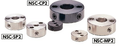 NSC-MP2Set Collar - with Installation Hole - Set Screw Type