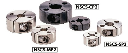NSCS-CP2Set Collar - with Installation Hole - Clamping Type