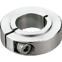 Set Collar (Made of Stainless Steel) - For Securing Bearing - Clamping Type