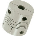 Cleanroom / Vacuum / Heat Resistant Couplings - Slit Type (PEEK) - Clamping Type