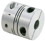 Bore Diameters 10 and 10 mm NBK MWSS-32C-10-10 Slit Flexible Coupling Stainless Steel SUS303 Clamping Type