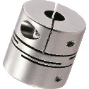Cleanroom / Vacuum / Heat Resistant Couplings - Slit Type (SUS316L) - Clamping Type