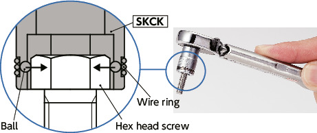 SKCK-6.35Hexagon Sockets (with Screw Holding Function)