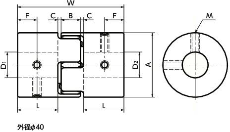 AcquaStiLLa 101744 Iron Wall Plugs M4 with Medium Hook Multicoloured Set of 10 Pieces