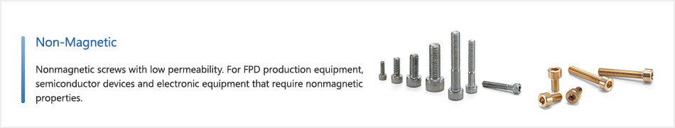 Non-Magnetic | NBK | Couplings, Screws, Clampers